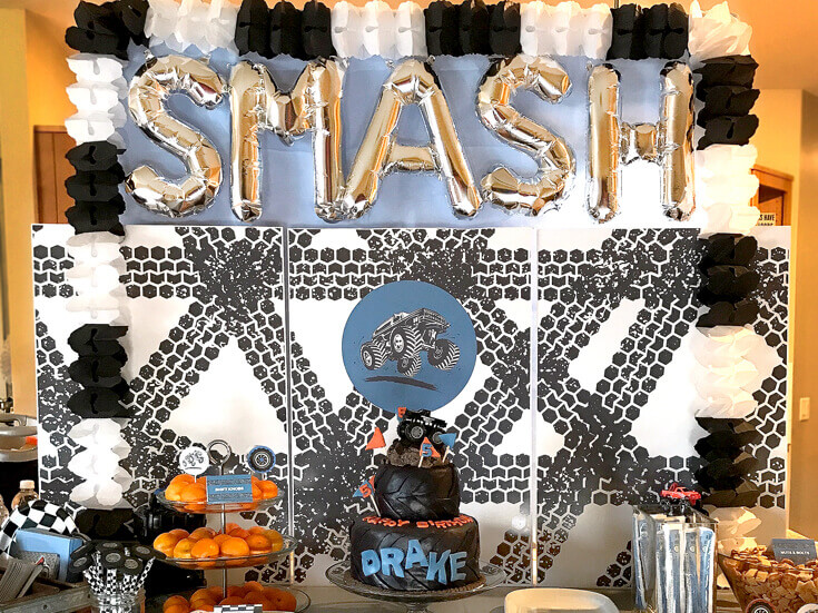 Monster Truck Birthday Party Smash Parties With A Cause