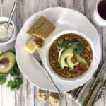 Skinny White Bean Chicken Chili Recipe