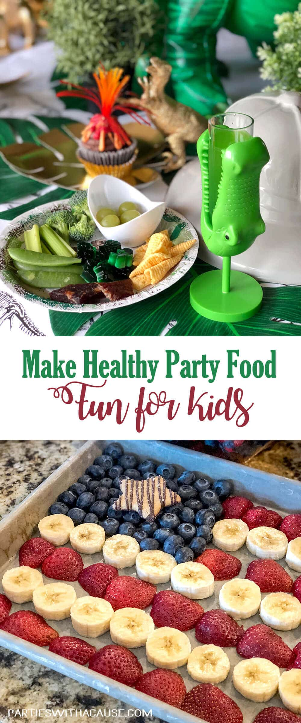 Make Healthy Party Foods fun for kids