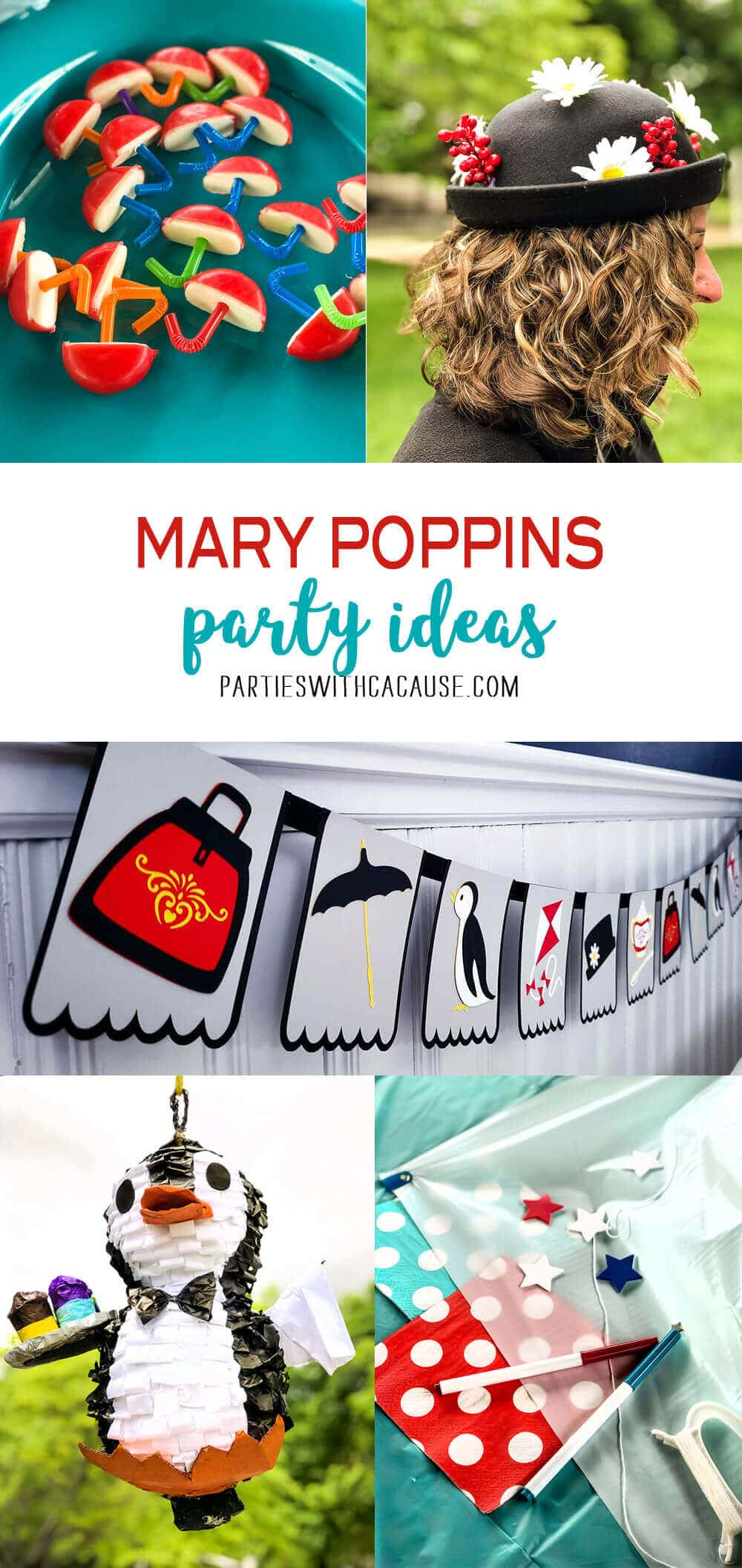 Mary Poppins Party Ideas for Pinterest