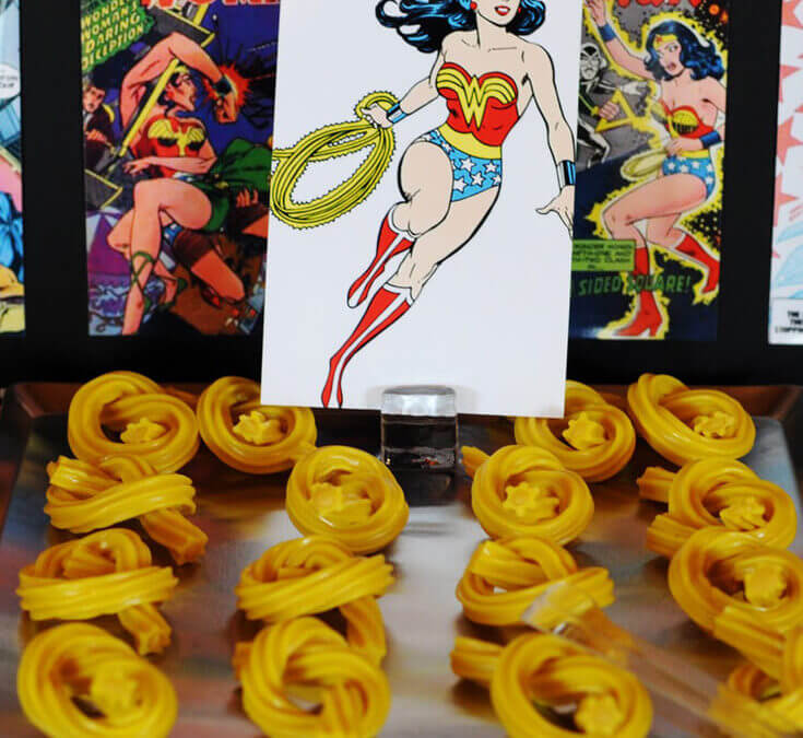 Wonder Woman Party Food