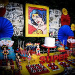 Comic Wonder Woman Party