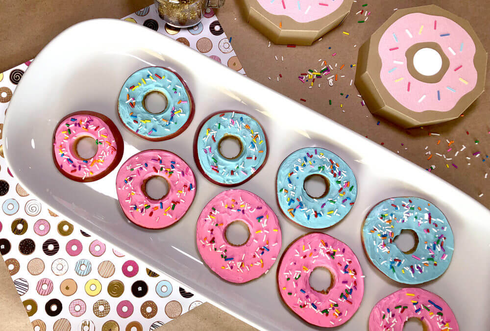 Apple Donuts Healthy Foodie Party Treat