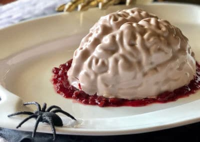 Red Velvet Brain Cake Tutorial