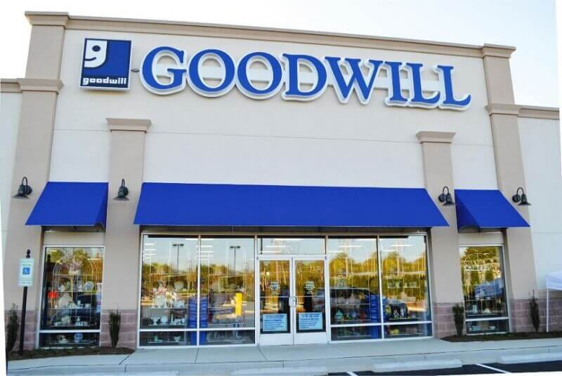 Goodwill a non-Profit Thrift Store Comparisons