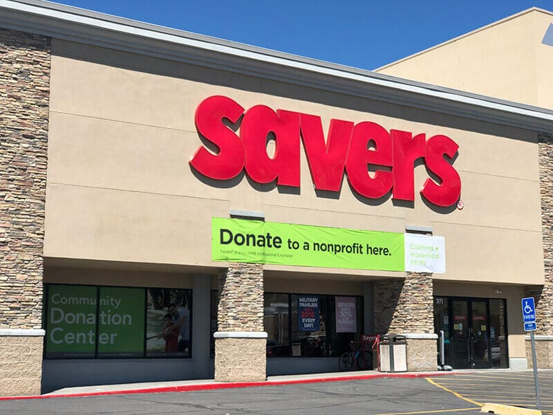 Savers a FOR Profit Thrift Store Comparisons