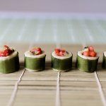 Simple Fruit Sushi Recipe Tutorial