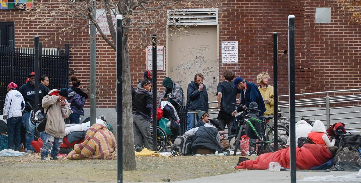 Homeless shelter in Salt Lake City