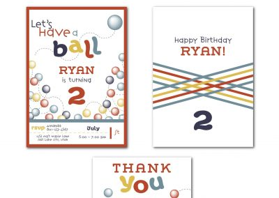 Have a Ball Birthday Party Invitation
