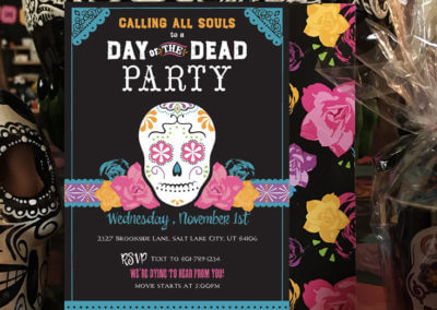Day of the Dead Party Invitation