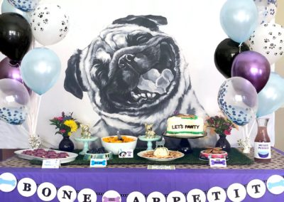 Bone Appetit Puppy Party Banner