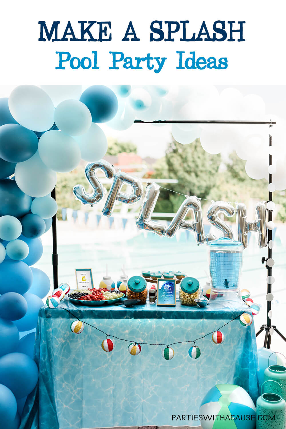 Make a splash pool party