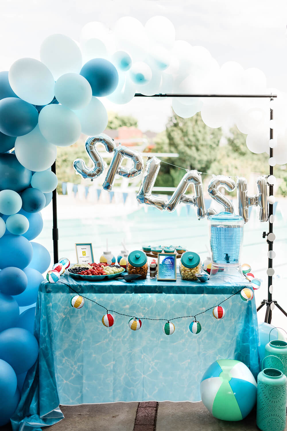 Make a splash pool party table