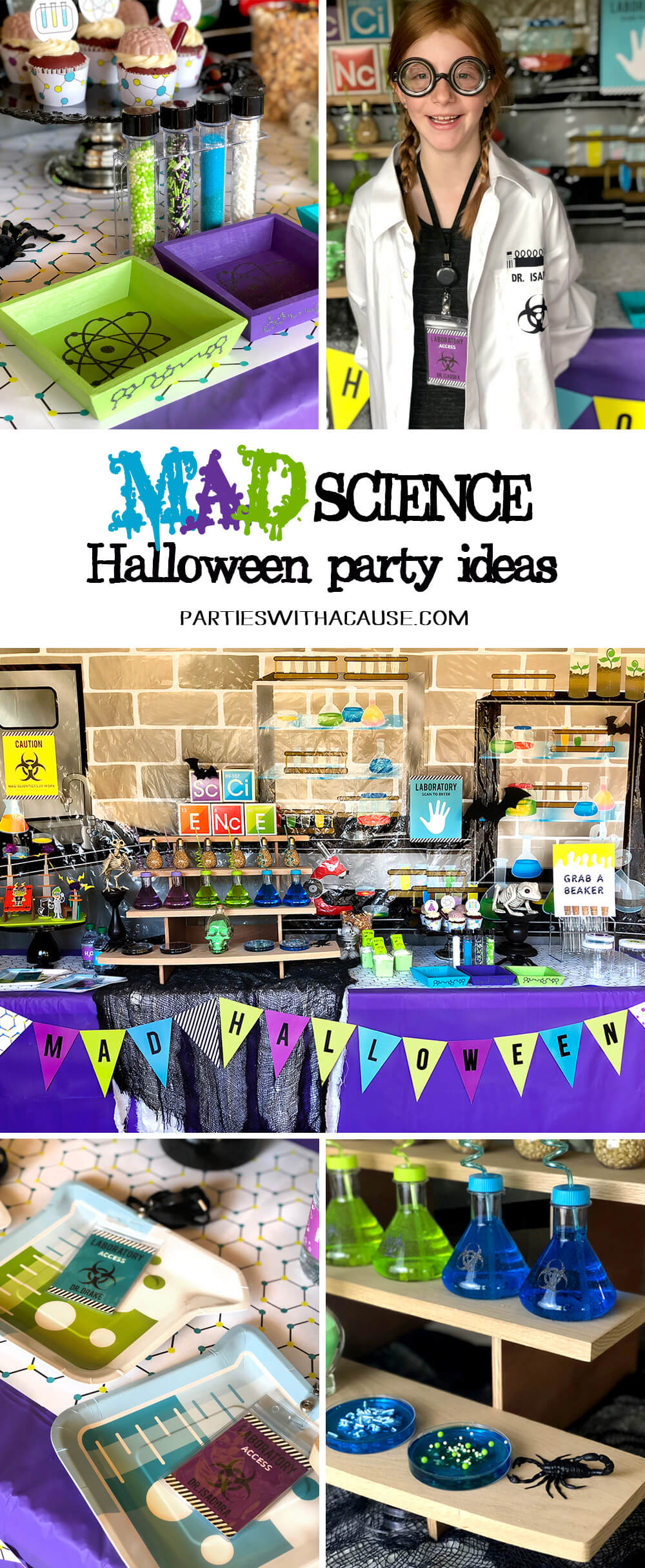 Mad Science Halloween Party Ideas