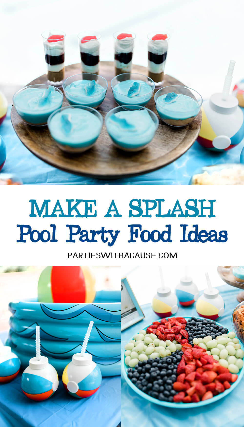 Make a splash pool party food ideas