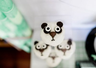 Full Size Panda Party Cupcake Decorating Tutorial