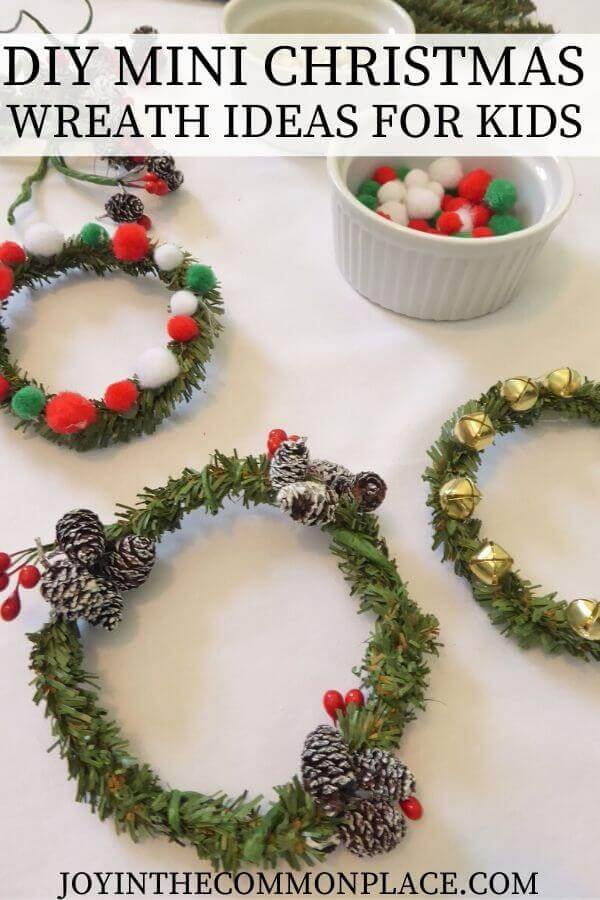 DIY -Christmas Wreath Ideas for Kids - Parties With A Cause