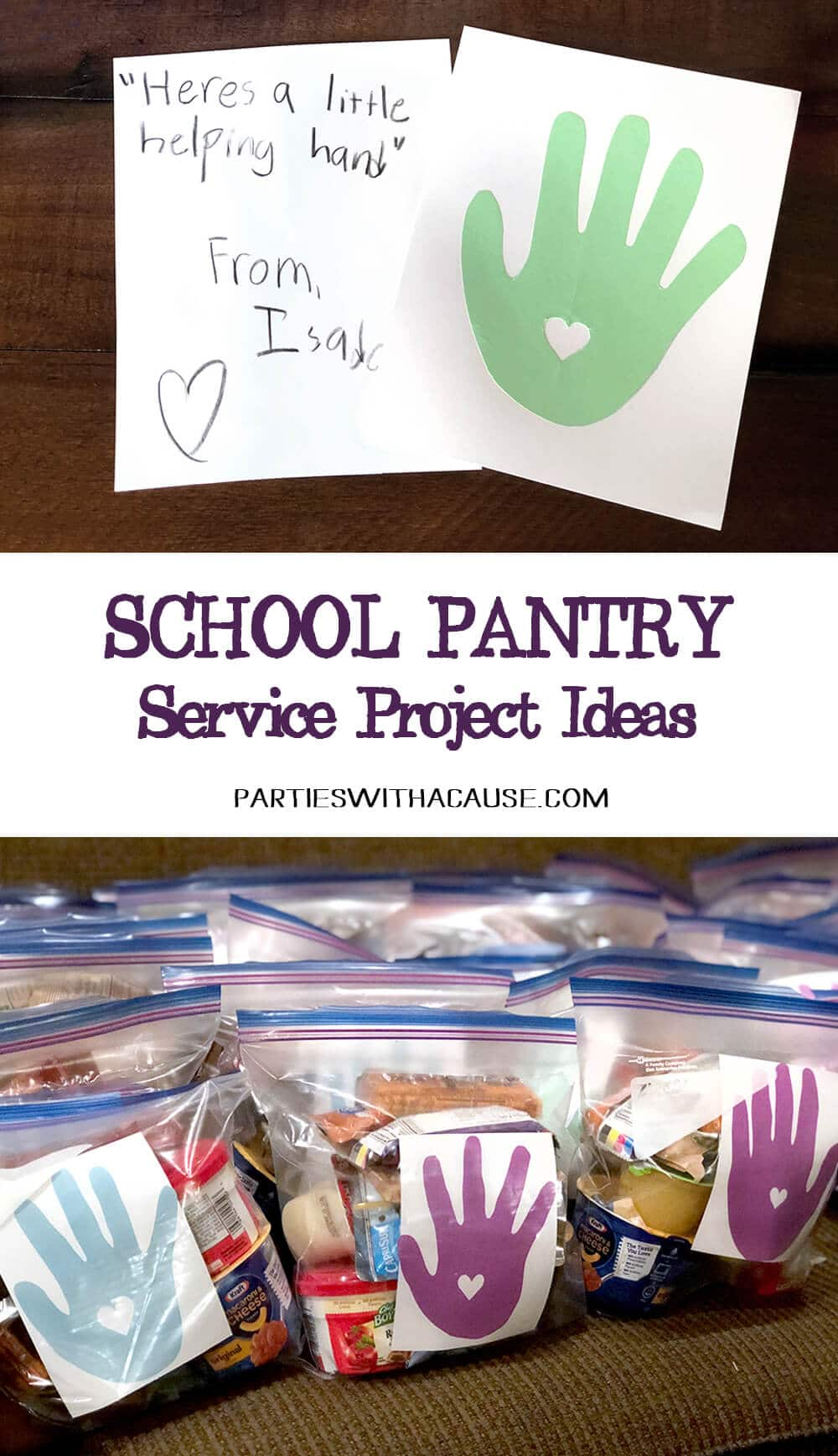 School food pantry service project