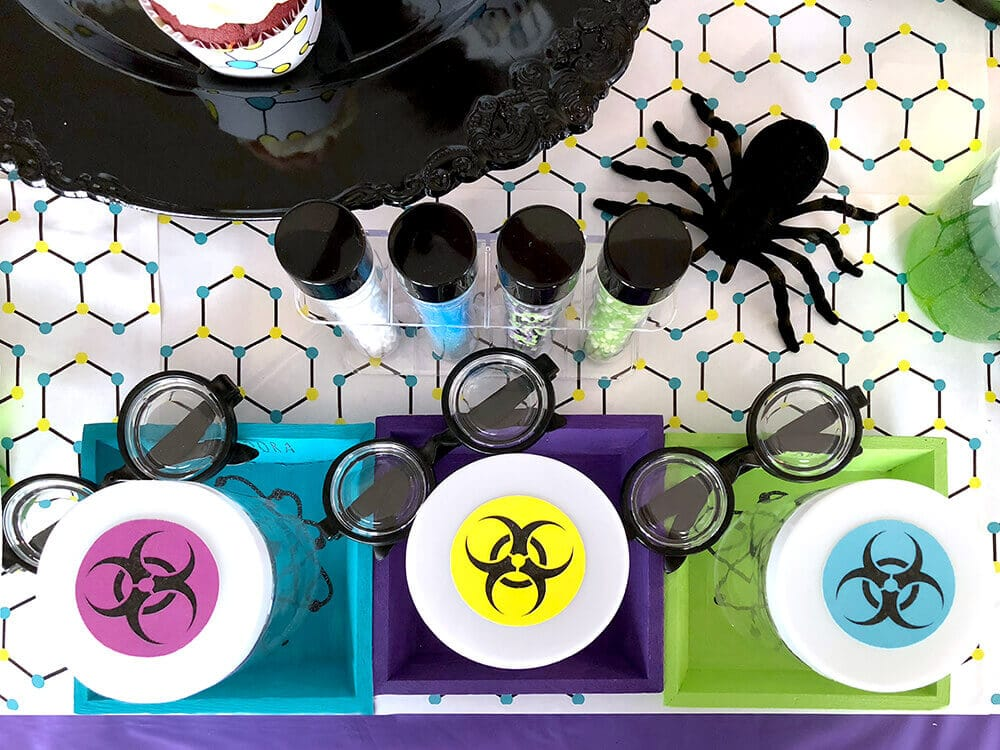biohazard printable toppers