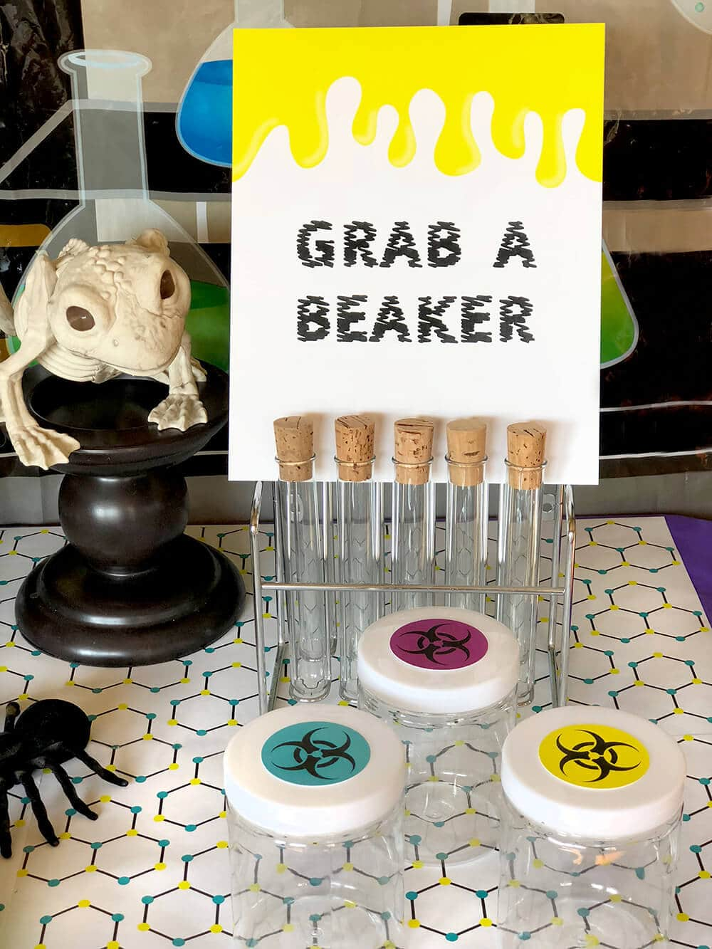slime making beaker kit