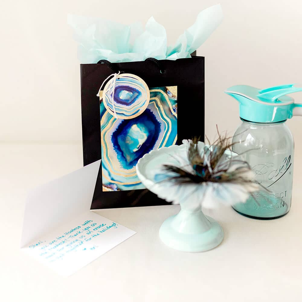 Holiday hostess gift geode gift kit