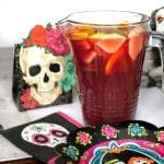Non-alcoholic sangria recipe for a Day of the Dead celebration