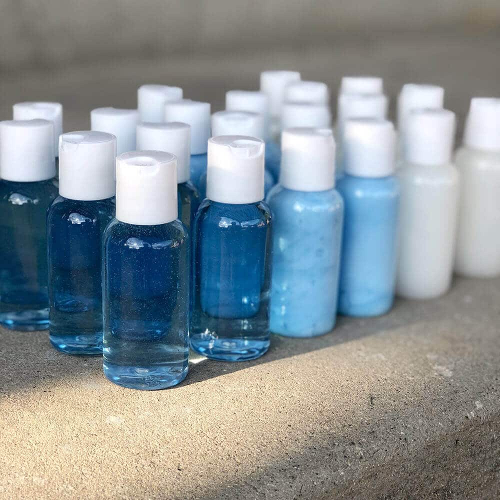 DIY travel toiletries for the homeless