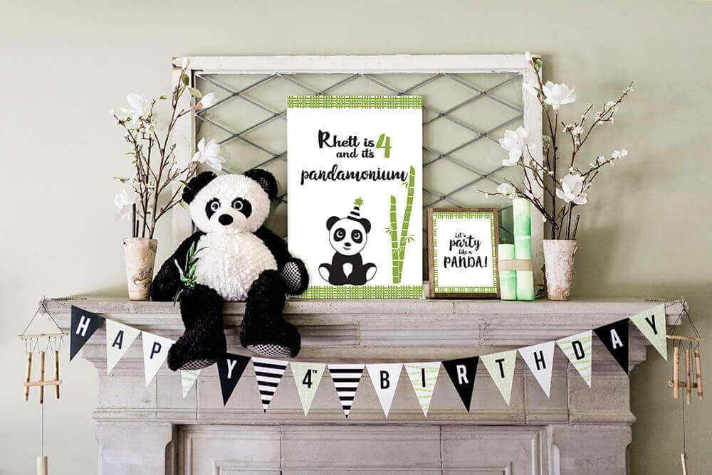 Party Like a Panda Themed Birthday Party Ideas