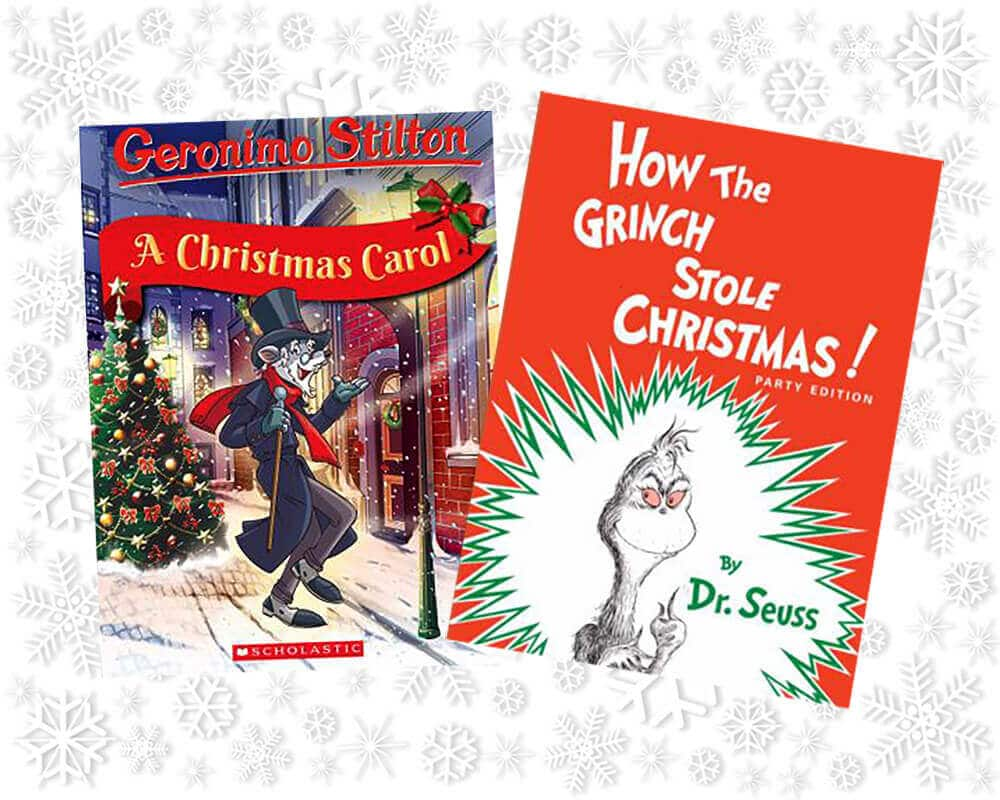 Books that teach a message for a Christmas Advent