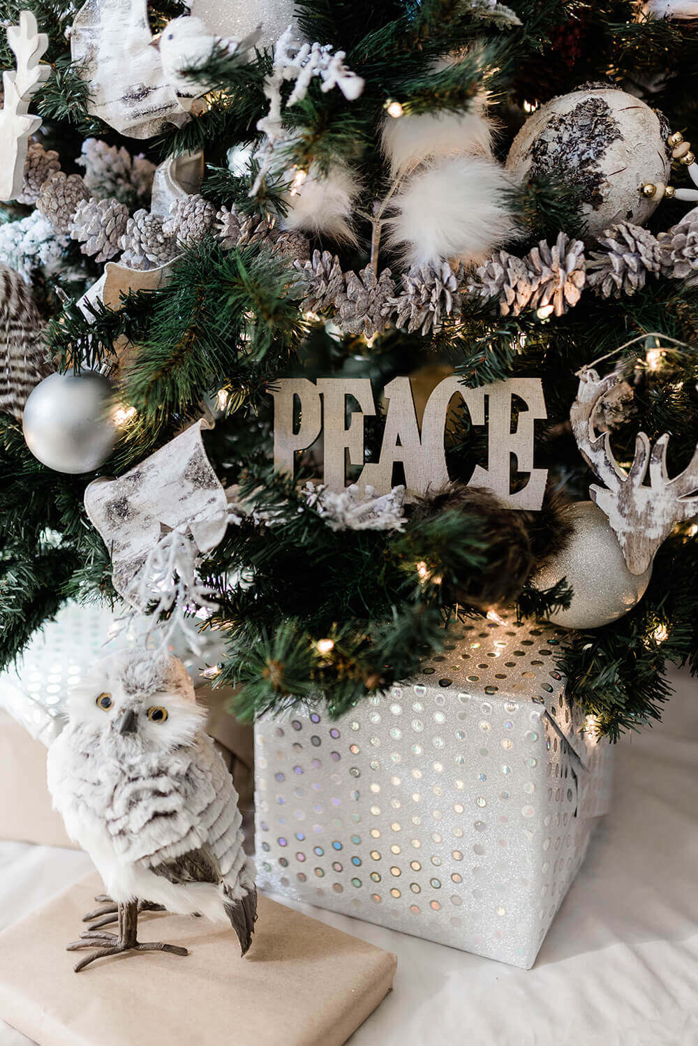 Try Peace on Earth for your Woodland tree