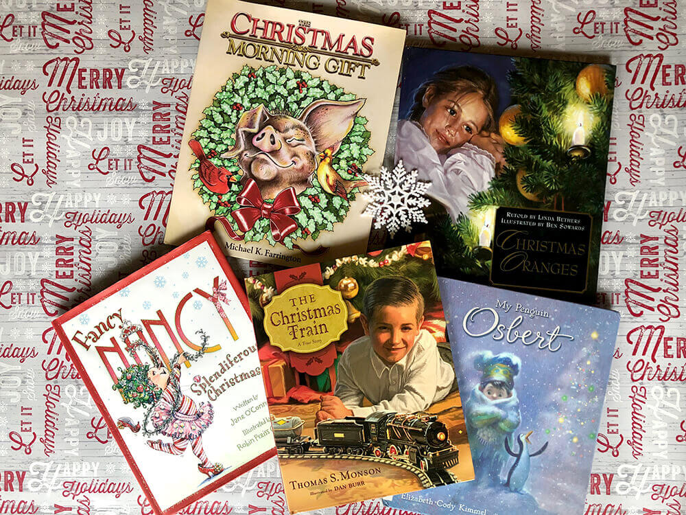 Mix of funny and touching Christmas books