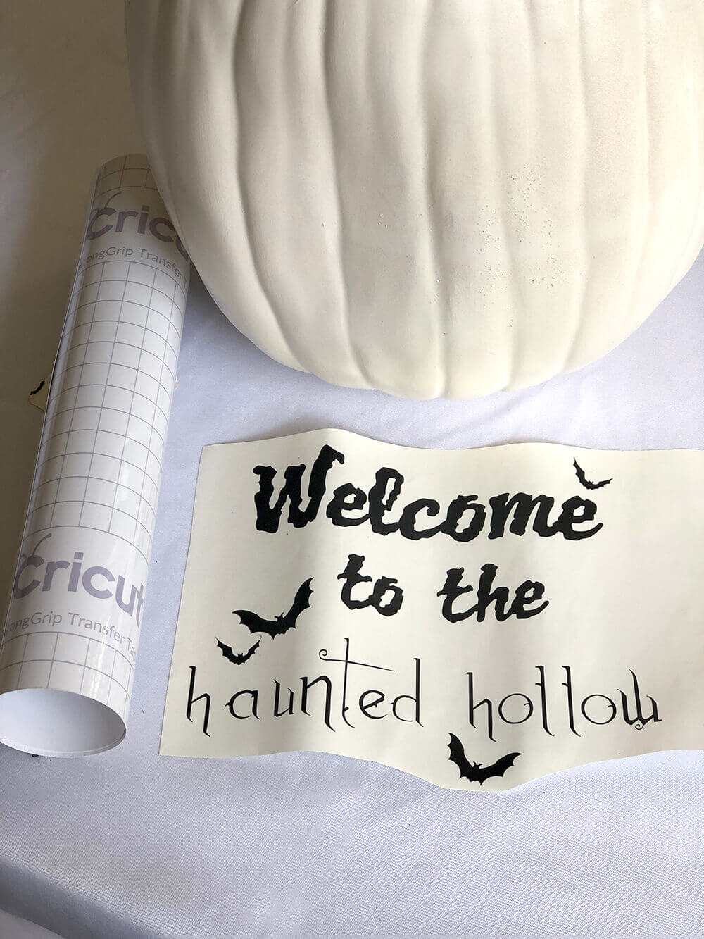Cricut craft haunted hollow svg