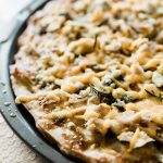 Baked fig pizza for party - Salt Lake Party Stylist