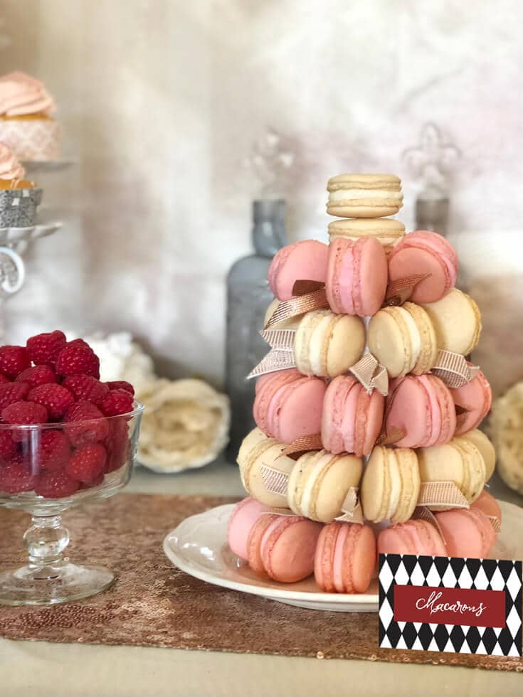 How To Make A Macaron Tower Parties With A Cause