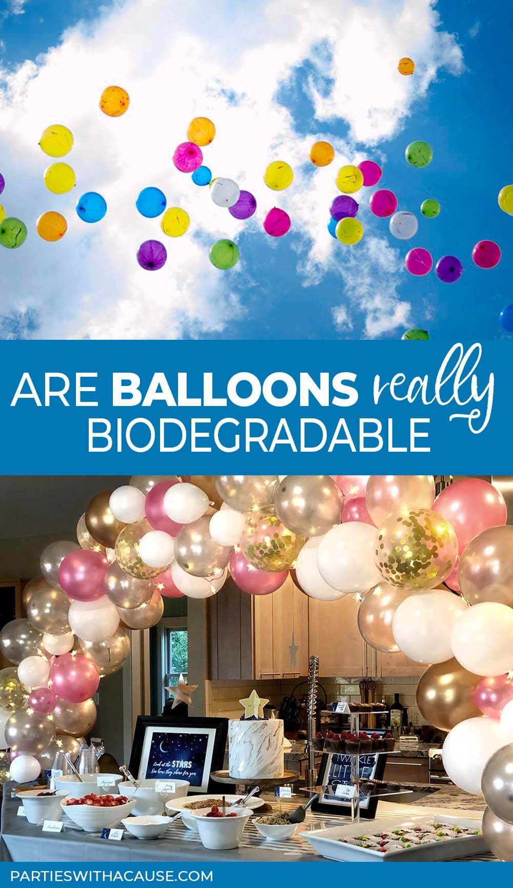 Are balloons really biodegradable? Salt Lake Party stylist
