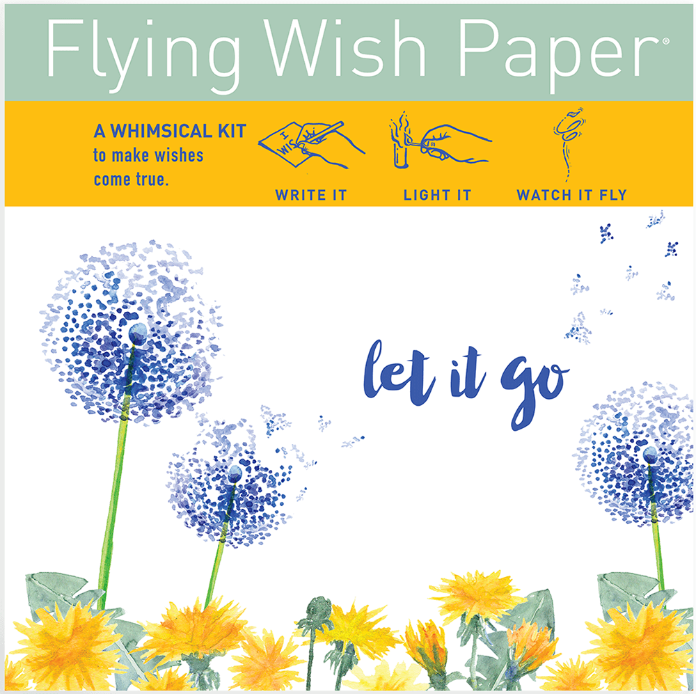 Flying wish paper makes a great alternative to balloon releases