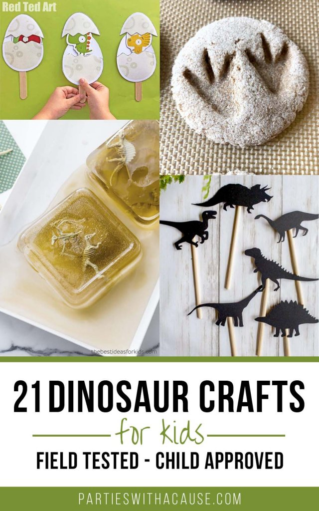 21 Dinosaur crafts for kids