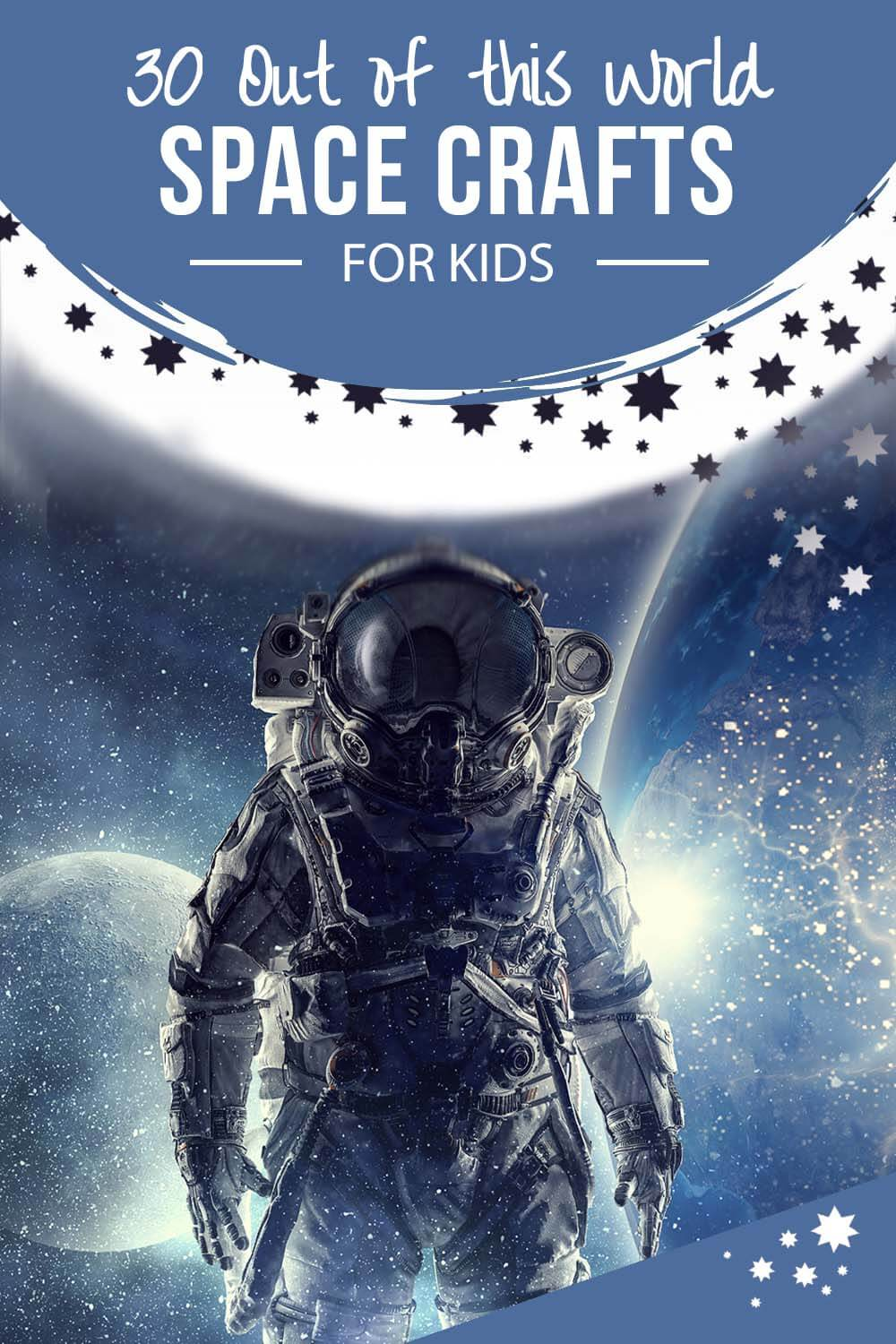 30+ Out of this world Space crafts for kids by Salt Lake Party Stylist