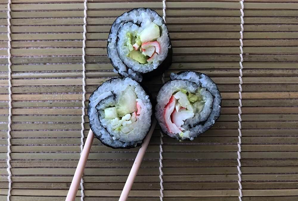 Rolling Sushi At Home With Kids