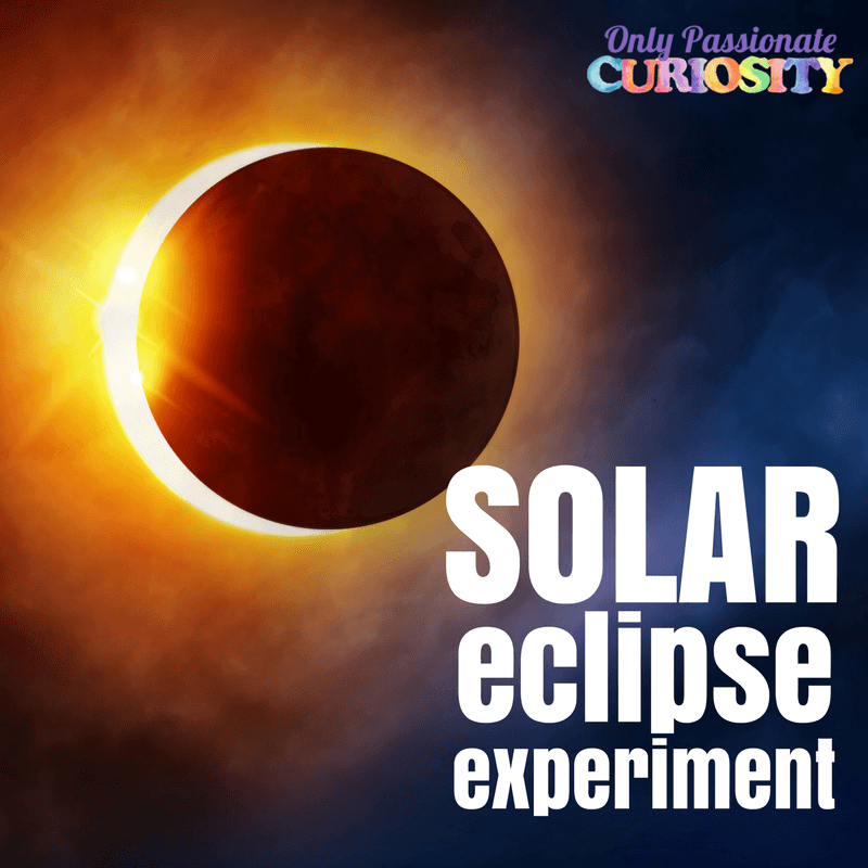 Solar eclipse experiment