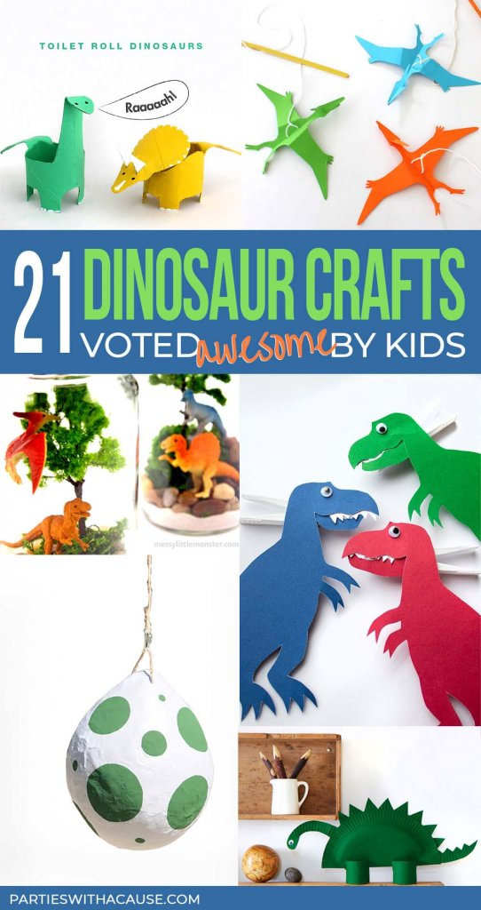 A collection of the best dinosaur crafts for kids