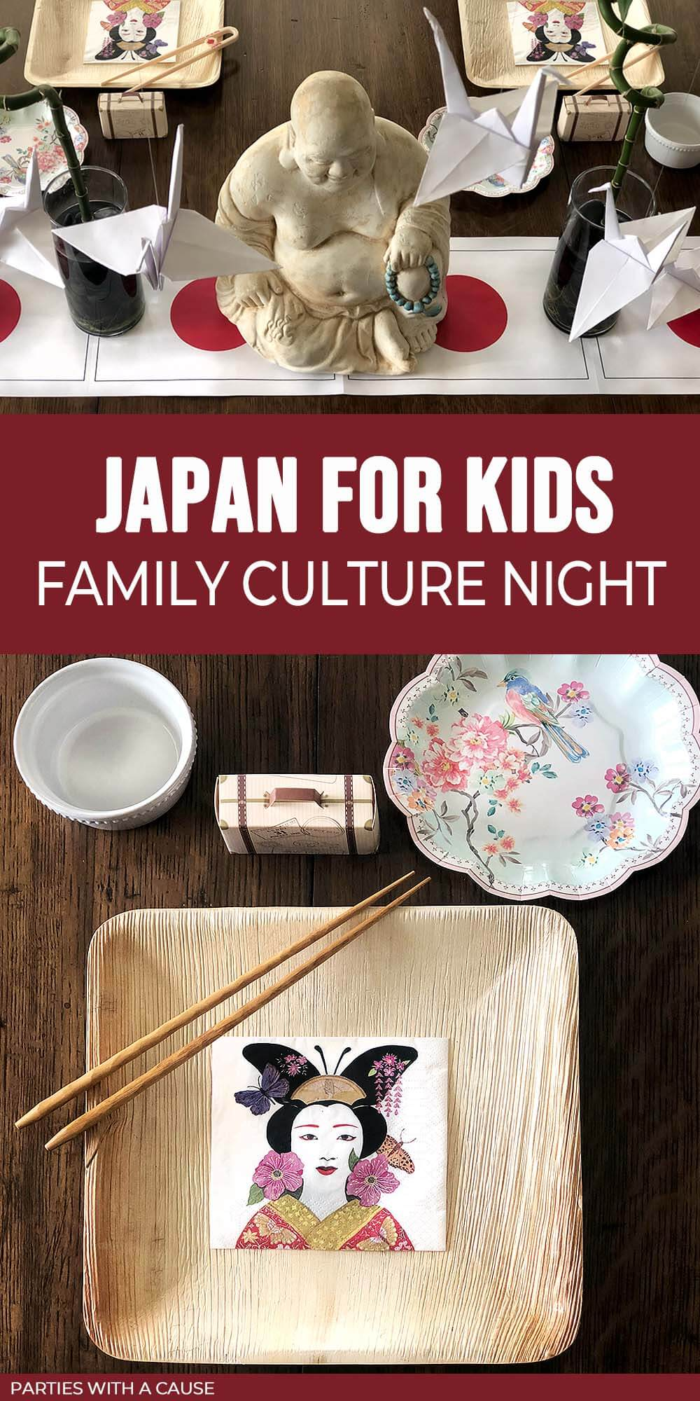 Japan fun for kids - family culture night