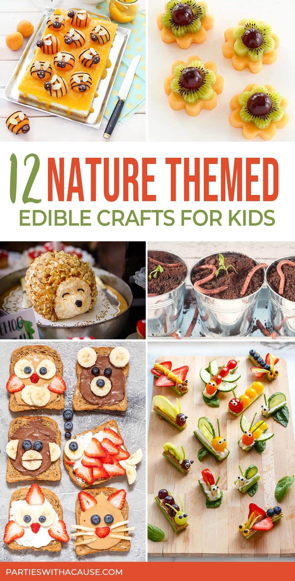 12 nature snacks for kids by Salt Lake party stylist