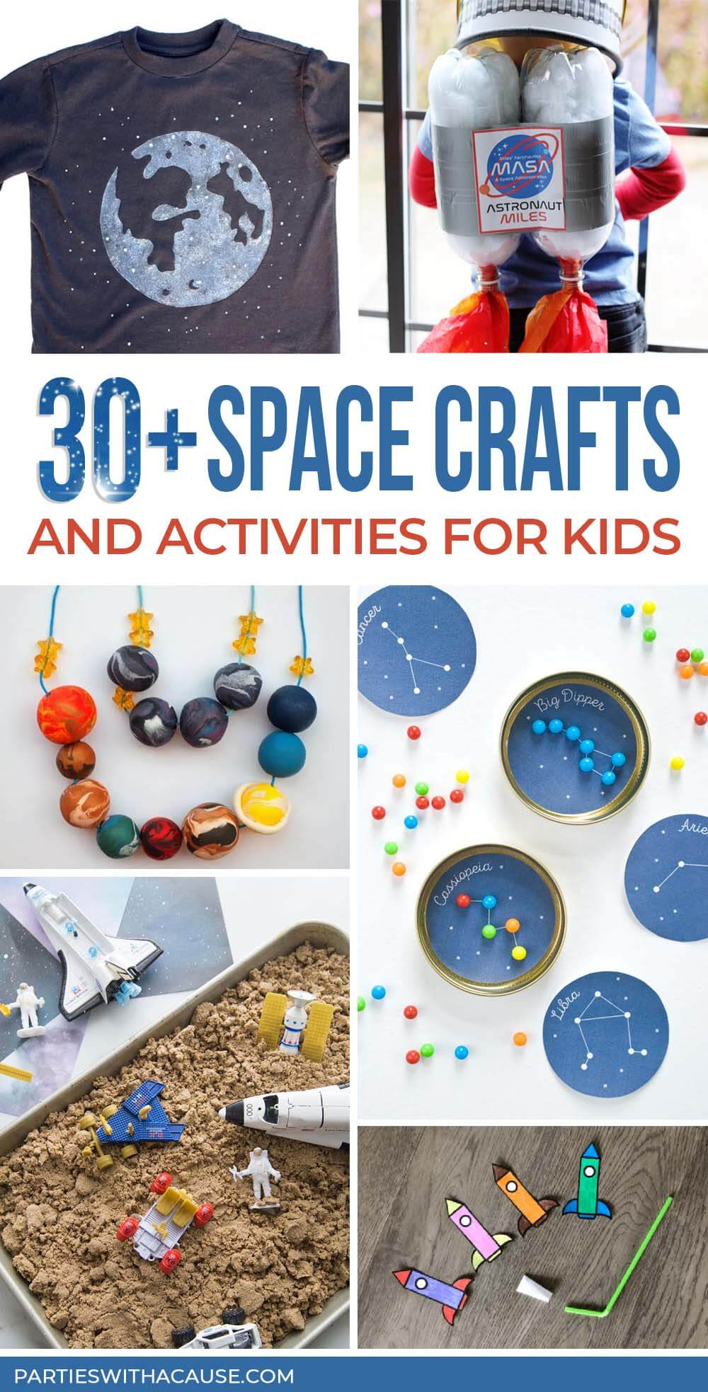 30+ Space Crafts and activities for kids Salt Lake party stylist