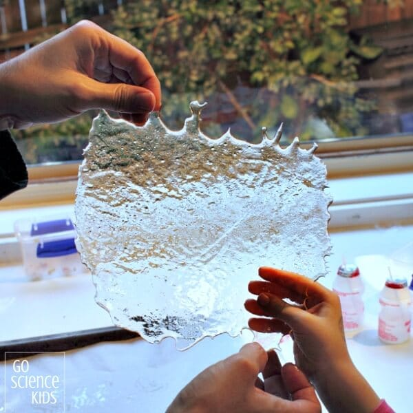Edible glass homemade kitchen science