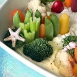 Creative Veggie Tray: Under The Sea