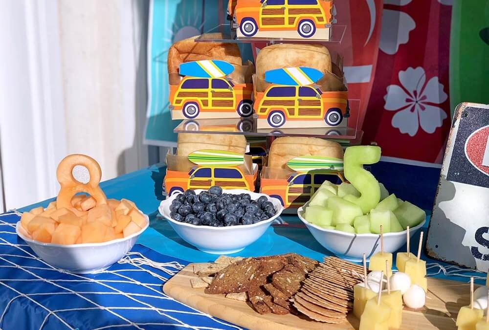 Surf Party Food Ideas for a Summer Birthday