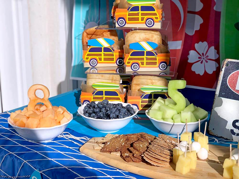 Fun food for a surf themed party