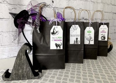 Boo Bag Printable Neighborhood Boo Game