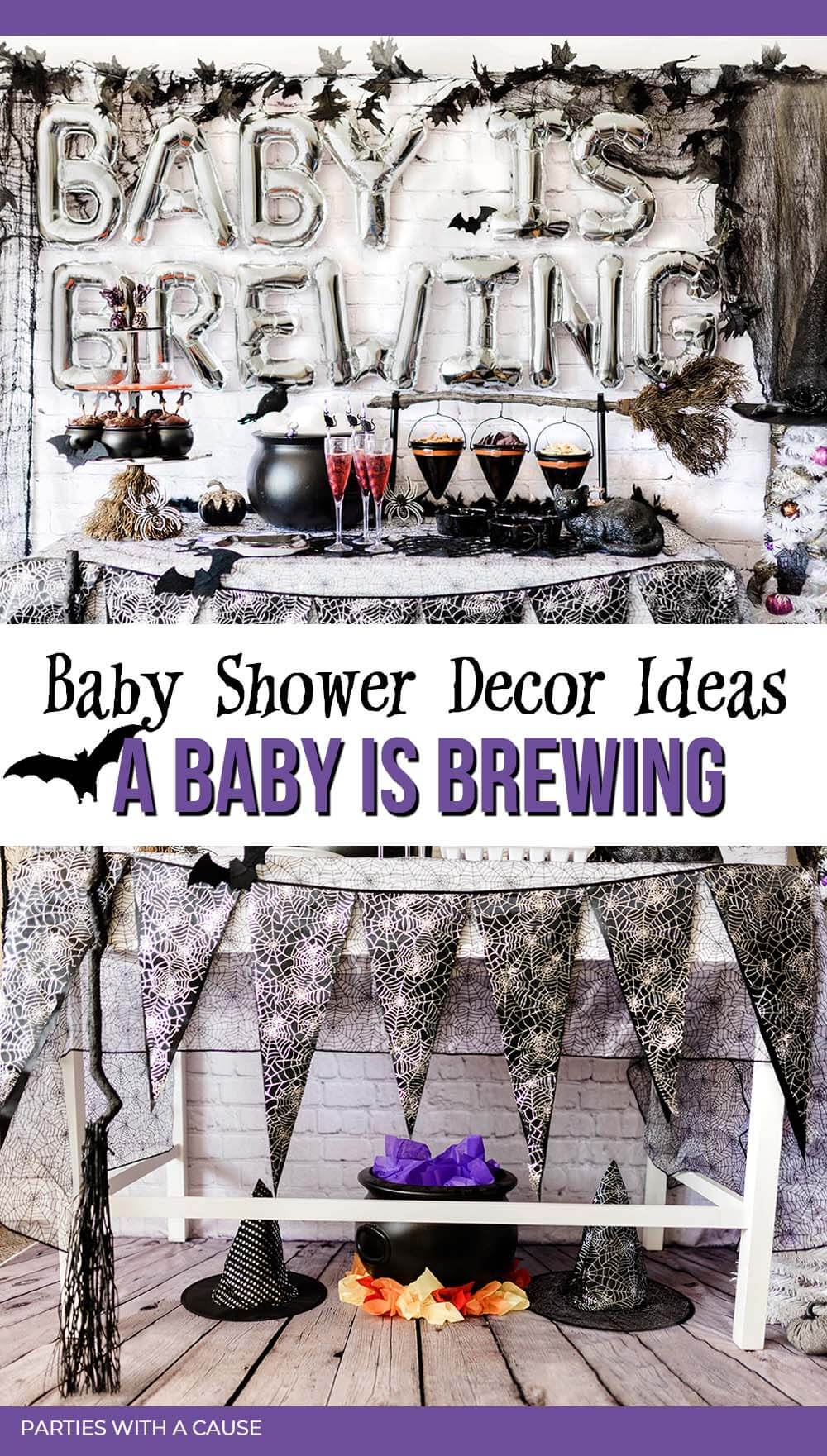 A Baby is Brewing Baby shower decor ideas by Salt Lake Party Stylist